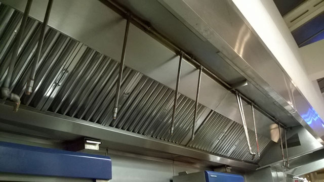Kitchen Canopy Before Clean & Canopy u0026 Duct Cleaning Services - Super Drain - Environmental Services